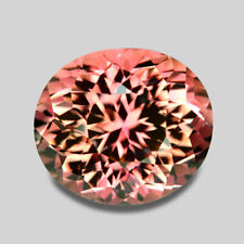 8CTS DELIGHTFUL CUSTOM CUT NATURAL BLENDED PEACH PINK TOURMALINE WATCH VIDEO
