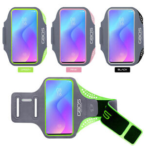 GBOS® Sport Armband Adjustable Jogging Exercise For Xiaomi Mi 9 With Stylus Pen