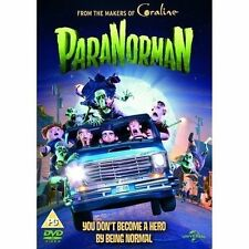 PARANORMAN UNIVERSAL UK 2012 REGIONS 2 4 5 DVD & UV FROM THE CORALINE MAKERS NEW