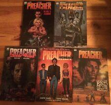 Lot of 5 Preacher books by Garth Ennis & Steve Dillon