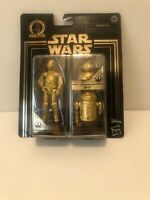 Star Wars Commemorative Edition Gold Droids New