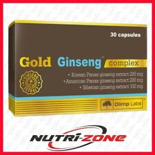 OLIMP GOLD GINSENG COMPLEX Triple Korean + American + Syberian Panax Extract