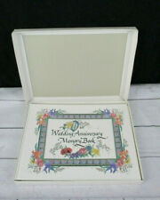 Our Wedding Anniversary Memory Book 1997 Talus Co Wedding Keepsake 50 Years