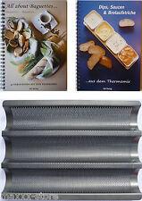 XL Set De Placa Baguette + Todo Sobre + Salsa con El Thermomix T31/TM5
