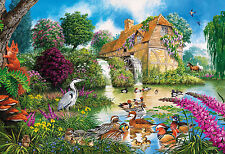 Gibsons - 500 PIECE JIGSAW PUZZLE - The Old Watermill