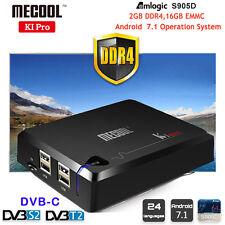 Android 7.1 DVB-C DVB T2+S2 KI Pro Amlogic S905D 2GB 16GB Quad-core Smart TV Box