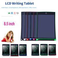 8.5'' Digital LCD Writing Pad Tablet Painting Draw Board Home Memo Notepad Lot