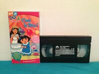 Dora l'exploratrice : C'est la fete   VHS tape & sleeve