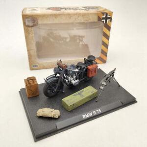 1:24 BMW R75 World War II 1939-1945 Black Motorcycle Diecast Model Collection