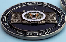 challenge coin  WHITE HOUSE  DONALD TRUMP military ARMY NAVY AIRFORCE