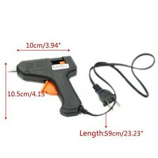 Hot NEW BRAND Melt glue gun Adhesive trigger Electric Sticks For Hobby Craft Art