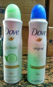 Dove Anti-Perspirant / Anti-Transpirant Deodorant | Go Fresh | Original | 150 ML