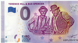 0 Euro Schein Terence Hill & Bud Spencer