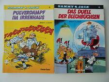 9x Sammy & Jack Nr.1-8,10 Alle 1. Auflage Carlsen Verlag Zustand 1-2
