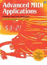 """""""ADVANCED MIDI APPLICATIONS"""" BOOK-COMPUTERS, TIME CODES  AND BEYOND-NEW ON SALE!"""