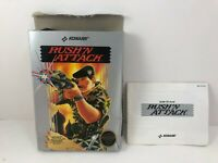 Nintendo NES Konami Rush N Attack BOX & BOOK ONLY (NO GAME)