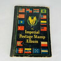 Imperial Postage Stamp Album 1931 Many Stamps Included Worldwide Scott Co