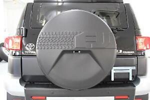 OEM 2007 - 2014 TOYOTA FJ CRUISER W/ BACK UP CAM SPARE TIRE WHEEL HARD COVER