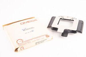 """Omega 423-120 2 1/4 x 2 1/4"""" 6x6cm Glassless Rapid Shift Negative Carrier V17"""