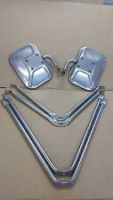 DODGE PICKUP TRUCK STAINLES STEEL TOWING MIRROR BRACKETS MOUNTING HARDWARE