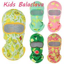 Kids Balaclava Ski Mask Childrens Winter Fleece Neck Warmer Hood Full Face Mask
