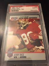 PSA 9 1990 Pro Set Super Bowl 160 JERRY RICE