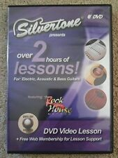 SILVERSTONE LESSONS FOR ELECTRIC ACOUSTIC & BASS GUITAR DVD TUITION