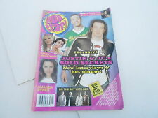 JULY 2003 POP STAR! teen  magazine AMANDA BYNES - JUSTIN TIMBERLAKE