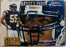 1996 Action Packed Artist's Proofs Chargers Football Card #116 Junior Seau ETS