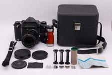[Exc+++++] Pentax 6×7 67 Eye Level w/ SMC-T 105mm grip case from Japan #298