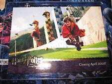 HARRY POTTER PROMO CARD N° 04 SORCERE'S STONE UPDATE NSU GOLD LINE VHTF MINT