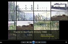 Best of 1988 Railfan DVD 1988- CCP-CNW-SOO LINE-BN-Frisco 1522-Lots Surprises!