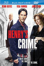 Henry's Crime (Blu-ray Disc, 2011) Keanu Reeves, James Caan BRAND NEW
