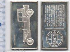 lingot d argent les voitures du Monde ( lancia 1924  - 034 )