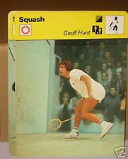 Squash Geoff Hunt Australian Collector card