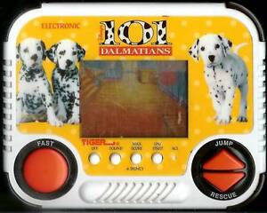 1990s TIGER 101 DALMATIANS DISNEY ELECTRONIC HANDHELD LCD TOY VIDEO GAME DOGS b