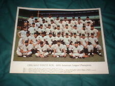 GREAT VINTAGE 1959 GO GO CHICAGO WHITE SOX AL CHAMPS COLOR PHOTO WORLD SERIES