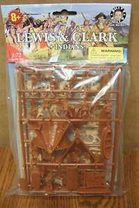 BILLY V LEWIS & CLARK and INDIANS 1/72 SCALE FIGURES