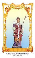 "OLD nice italy rare Holy cards ""H6853"" san bili"