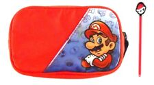 Nintendo Super Mario DS Carrying Case Carry Bag Zippered with Stylus Pen
