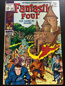 Fantastic Four #84 VG (4.0)