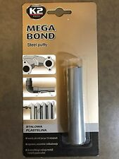 K2 Mega Bond Steel Putty Strong Metal Plasticin 60g The Best Sealant 15min Fix