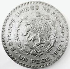 MEXIQUE .1 PESO 1961 .34 MM.SILVER BAS TITRE .JOSE MORELOS Y PAVON 15.91 GR