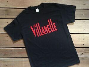 Villanelle Black T Shirt Killing Eve Drama Assassin Tee Shirt