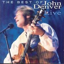 John Denver - The Best Of John Denver Live [New & Sealed] CD