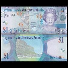 Cayman Islands 1 Dollar, 2010-2018, P-38,Banknote, UNC