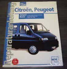 Reparaturanleitung Citroen Jumper Peugeot Boxer 1,9 2,5 Diesel + Turbo ab 1994!