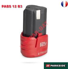 Batterie 12 V Parkside pour perceuse-visseuse à accus PABS 12 B3