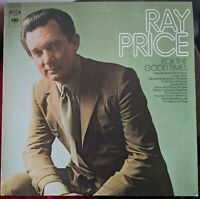Ray Price For The Good Times record album. Columbia Records C 30106 Stereo 1970