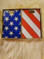 Vintage Congress Playing Cards Stars & Stripes Americana USA 2 Decks Sealed